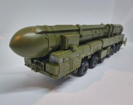 新しいツール1/72ロシアRT 2PM2 SS 27鎌b topol mインター弾道ミサイルモデルキットMZKT 79221トラック車のおもちゃ