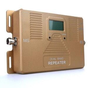 Image 2 - Répéteur ATNJ double bande 2G 3G 4G amplificateur de téléphone portable 1800/2100mhz booster de signal avec écran LCD comprend 3 antennes intérieures