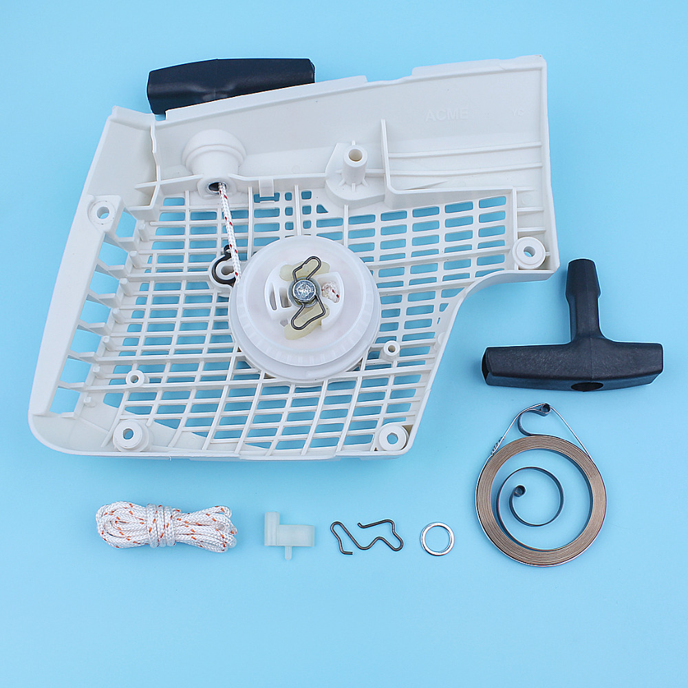 MS280C For MS270C Pawl Chainsaw Starter MS Replacement 270 Kit Spring Stihl MS270 280 MS280 Recoil Part Rope Assy Spare Grip