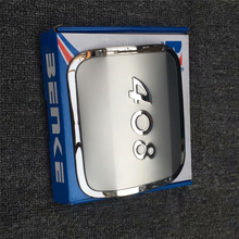 Stainless steel Stickers fuel tank cover for PEUGEOT 408 car-styling fuel cap protect trim cover недорого