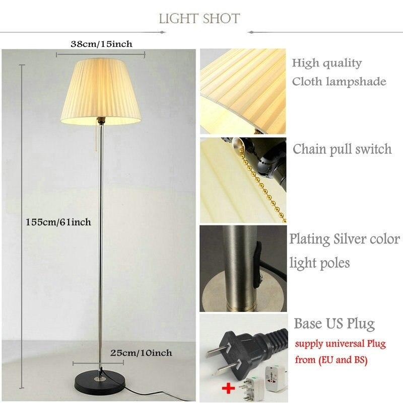 Moderne stehlampe wohnzimmer stehleuchte schlafzimmer stehleuchte ...