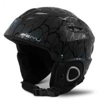 2018 Mens Ski Helmets Women Bike Motercycle Skateboard Integrally molded Ultralight Breathable Skiing Helmet Cover Snowboard CE