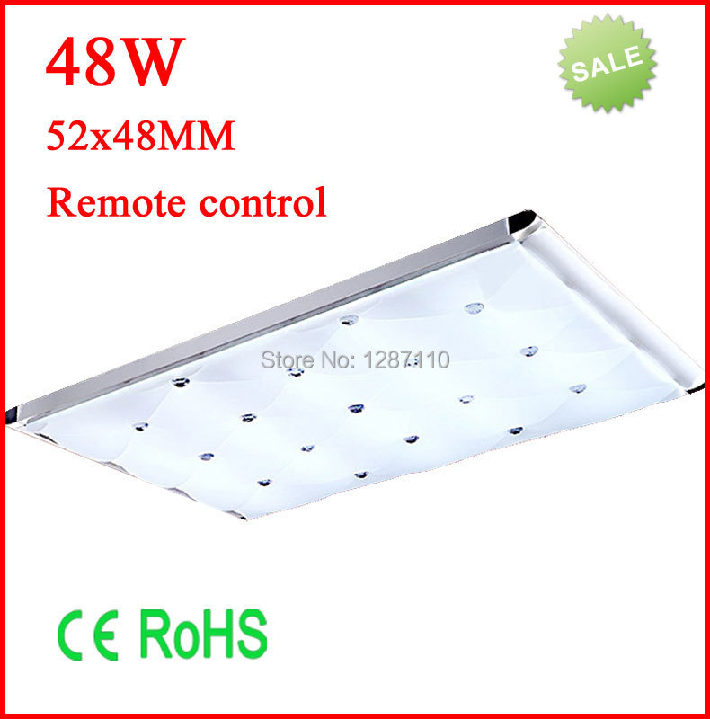 Modern simple style LED ceiling light Europe style contemporary and contracted led panel ceiling light lamp with remote control youoklight remote control led ceiling light