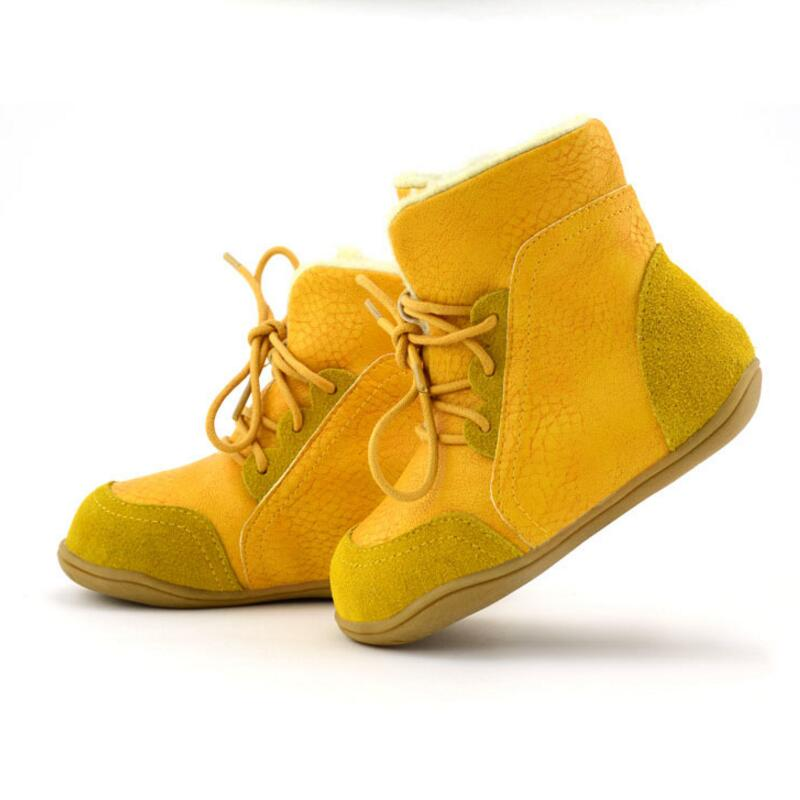 Childrens-leather-boots-girls-snow-boots-Tree-Wrasse-2017-new-fashion-winter-childrens-shoes-non-slip-warm-cotton-boots-2