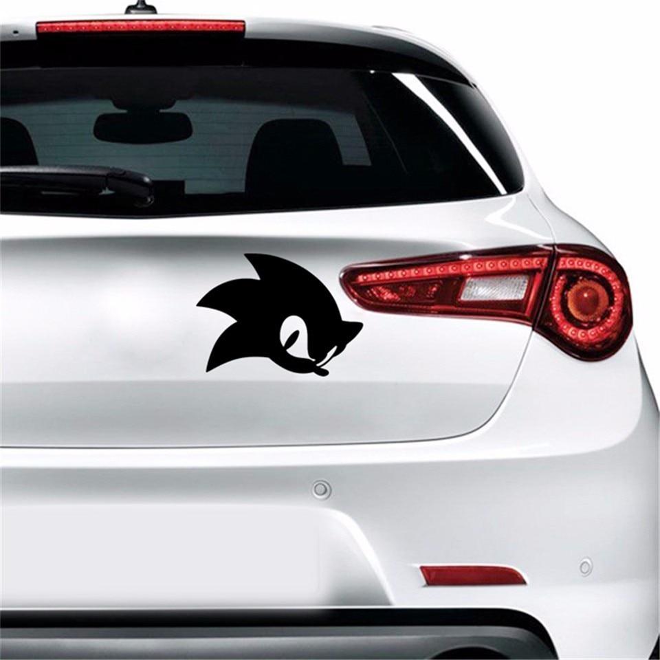 13 4 10cm Cartoon Game Sonic Hedgehog Decal Stickers Bumper Car Window Glass Decorative Sticker Fashion Creative Auto Stickers Car Stickers Aliexpress