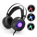 Ordenador Stereo Gaming Auriculares casque Askmeer Combaterwing M170 Mejor Juego de Auriculares Auriculares con Micrófono y Luz LED para PC Gamer