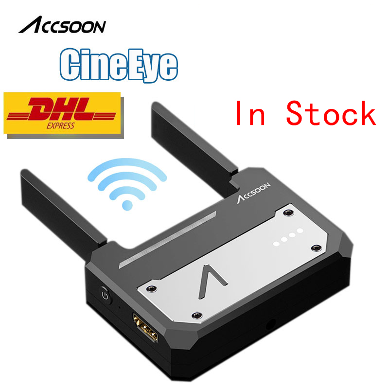 Accsoon CineEye Wireless 5G 1080P Mini HDMI Transmission Device Video Transmitter For IOS iPhone for iPad Andriod Phone