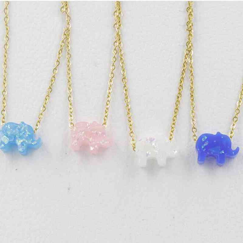 charm Women blue crystal A sets Six angle Pendant Natural stone Necklace Earring