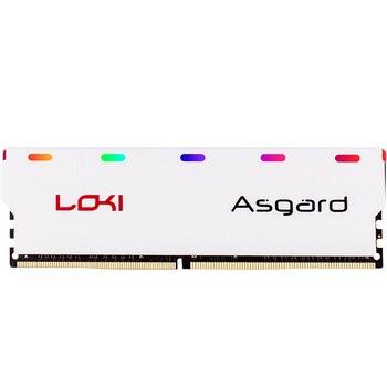Asgard Loki série DDR4 8gb 16gb 2400mhz 2666mhz 3000mhz rvb RAM pour bureau de jeu avec mémoire vive haute performance