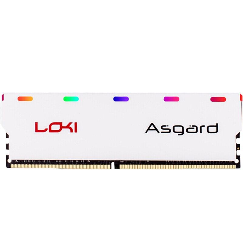 Asgard Loki série DDR4 8 gb 16 gb 2400 mhz 2666 mhz 3000 mhz RGB RAM pour les jeux de bureau avec haute performance memoria ram