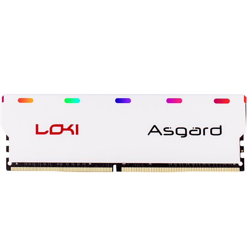 US $43 5 |Asgard Loki series DDR4 8gb 16gb 2400mhz 2666mhz 3000mhz RGB RAM  for gaming desktop with high performance memoria ram-in RAMs from Computer