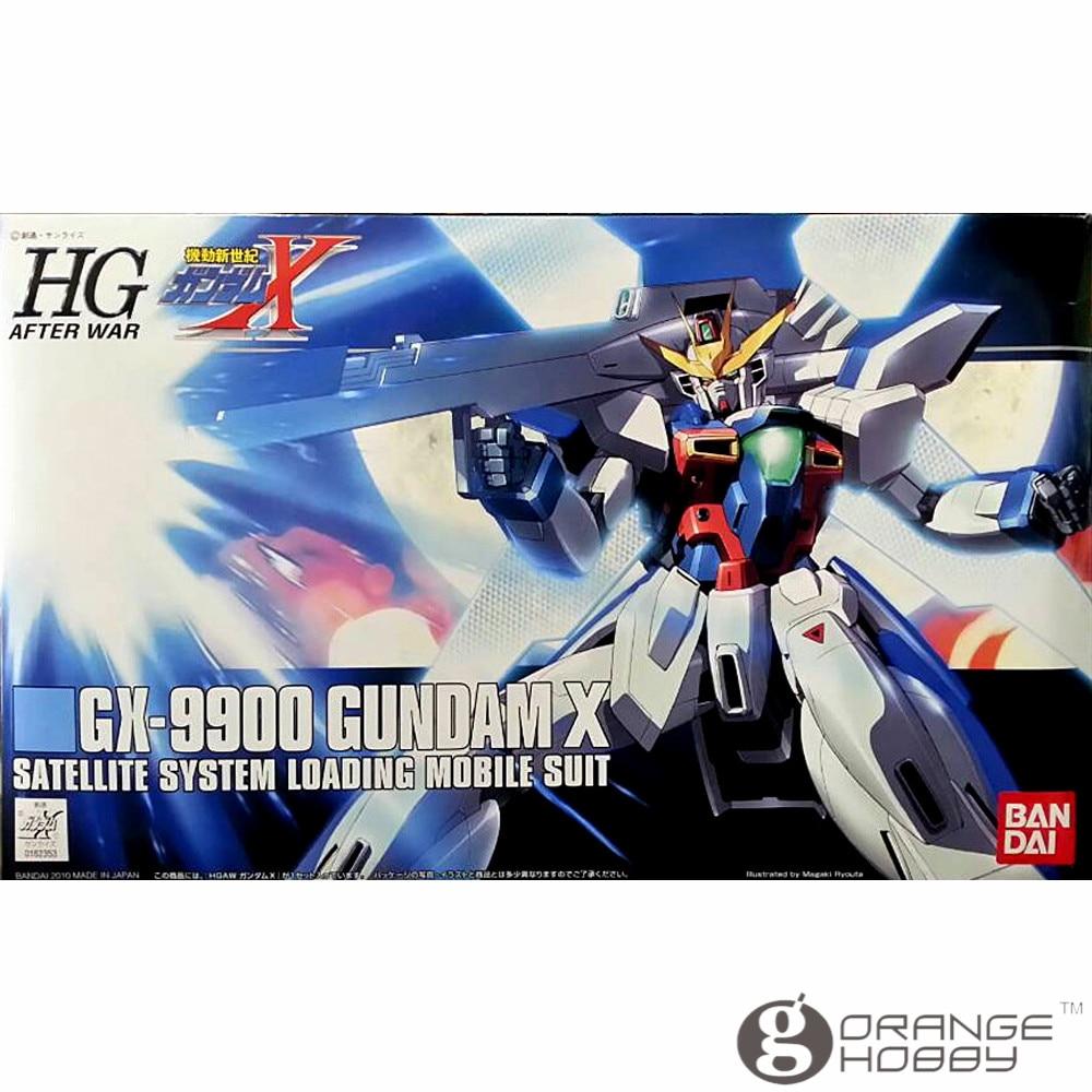 OHS Bandai HGUC 109 1/144 GX-9900 Gundam X Mobile Suit Assembly Model Kits bandai bandai gundam model sd q version bb 309 sangokuden wu yong bian xiahou yuan battle