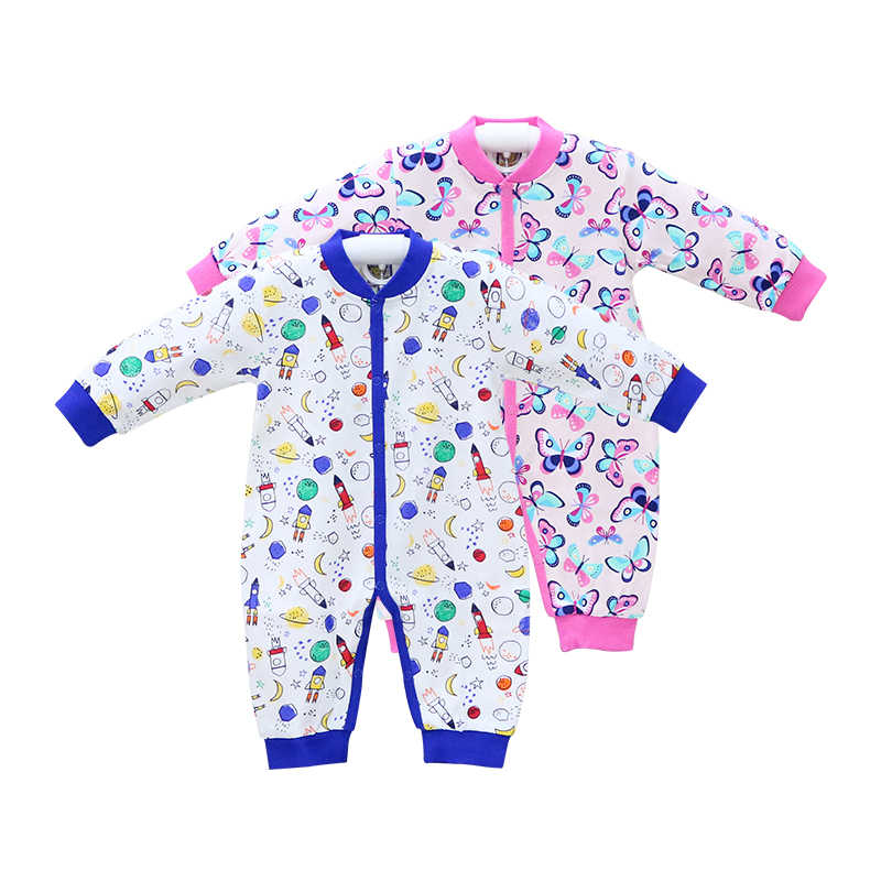 Baby Spring and Autumn Pure Cotton 2 pieces Rompers Long Sleeve Toddler Clothes Children Clothes Little Q New Suits christmas