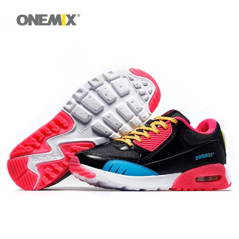 Woman Running Shoes Max Nice Retro Run Athletic Trainers For Women Black Red Zapatillas Sport Shoe Outdoor Walking Sneakers 2018 onemix man running shoes for men athletic trainers black blue zapatillas sports shoe outdoor walking sneakers free ship