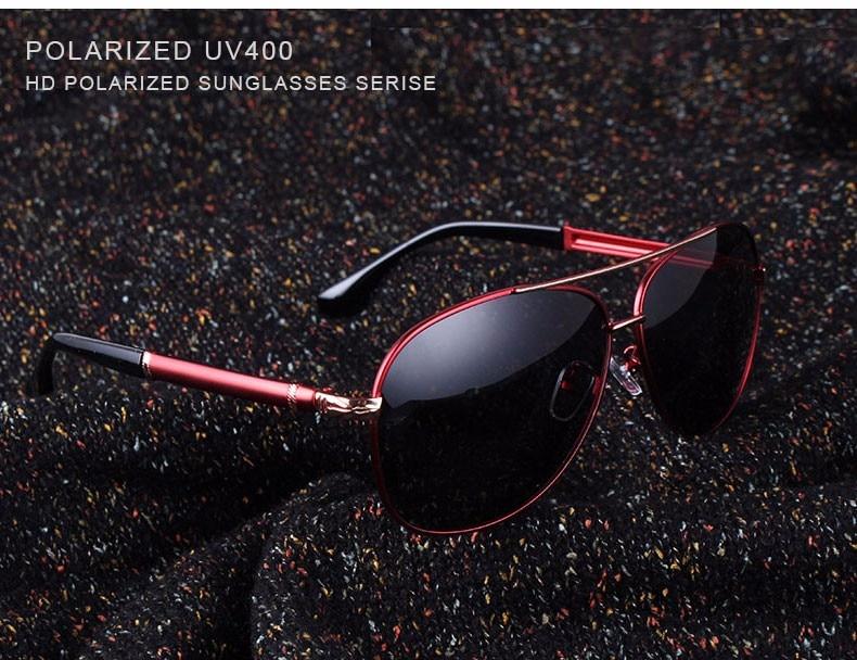 2017 Retro Quality Brand Original Sunglasses Men Polarized Lens Vintage Eyewear Accessories Gold Sun Glasses Oculos For Men 13
