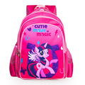 2017 новых детей мультфильм my little pony школьный девушки прекрасный рюкзак школьный Для детей дети Рождественский подарок bags4544
