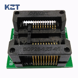 SOIC20 SO20 SOP20 Para DIP20 Programação Soquete Passo 1.27mm IC Largura Do Corpo 7.5mm Socket Test Adapter Programador 300mil
