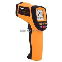 Cheap price Digital IR Infrared Thermometer TASI-8610 -50C~700C Degree Non-contact Industrial Laser Infrared Thermometer Gun Free shipping