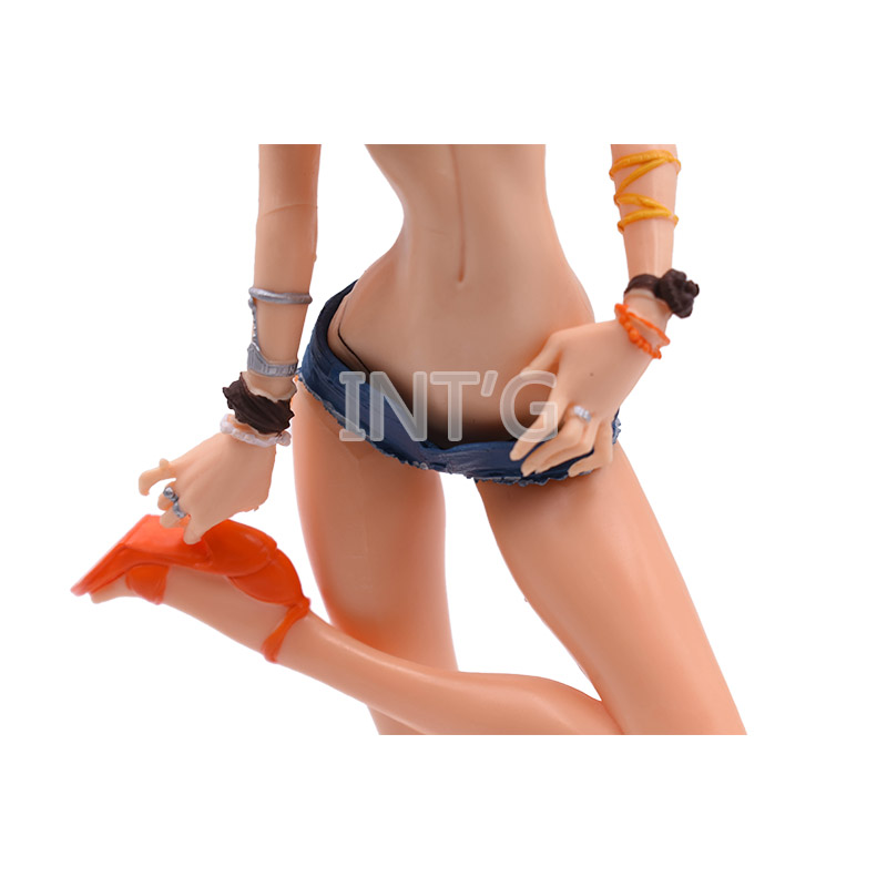 9 6 quot 24 cm Anime One Piece Sexy Captain Nami PVC Action Figure Doll Collectible Model Toy Christmas Gift in Action amp Toy Figures from Toys amp Hobbies