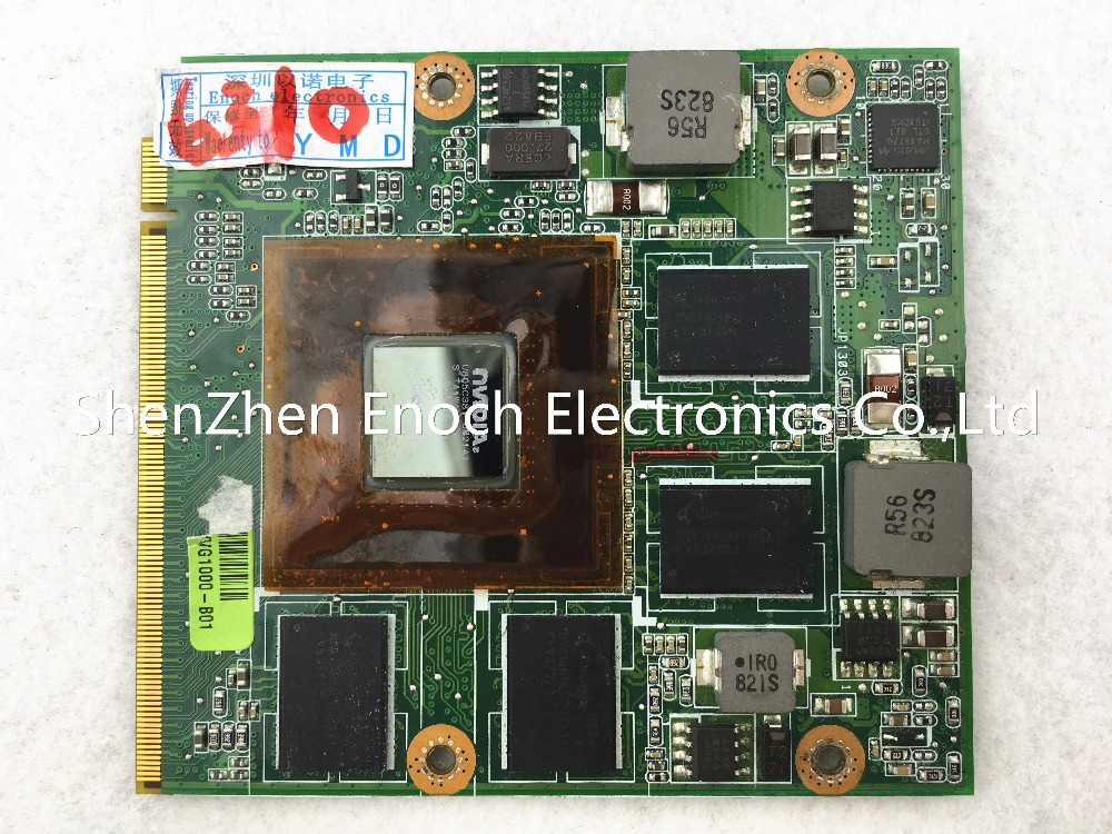 08G2015GV20I for ASUS G50V laptop VGA video card graphics card G96-750-A1 stock No.999