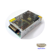 Registered Air Mail Free Shipping LED Power Supply 24V 3A 72W Speical Of 24V LED Strip