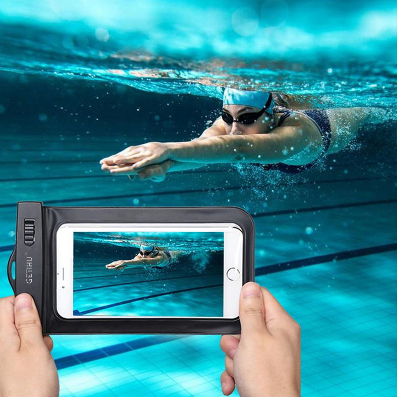 For iPhone 7 6 6s plus 5 5c 5s 4s Samsung galaxy S7 S6 <font><b>S5</b></font> S4 edge plus Sealed Waterproof Underwater <font><b>Mobile</b></font> <font><b>Phone</b></font> Bag Pouch <font><b>Case</b></font>