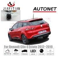 JiaYiTian rear view camera For Renault Clio 4 Clio IV Estate 2012 2013 2014 2015 2016 2017 2018 license plate camera backup CAM