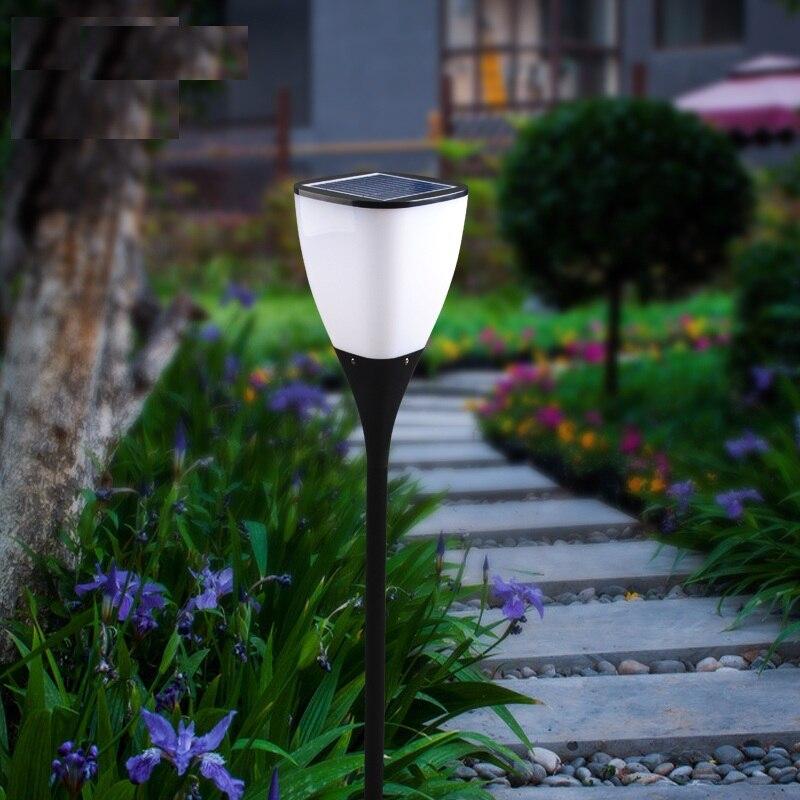 70Lumens Low Voltage Outdoor Led Solar Pillar Light IP65 Wireless Energy  Saving Solar Garden Light For