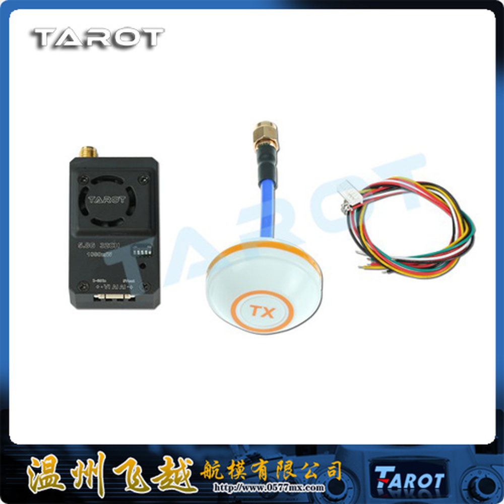 F-Cloud Tarot 1000mW aluminum shell cooling 5.8G picture transmission group small four-axis multi-rotor FPV TL300N4 f cloud the new x4110s 400kv 460kv high efficiency long four axis multi rotor uav aerial fpv motor