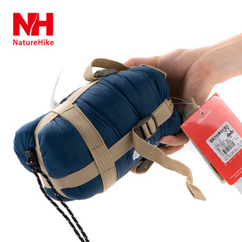 NH portable mini sleeping bag outdoor camping travel envelop cotton 0.7kg