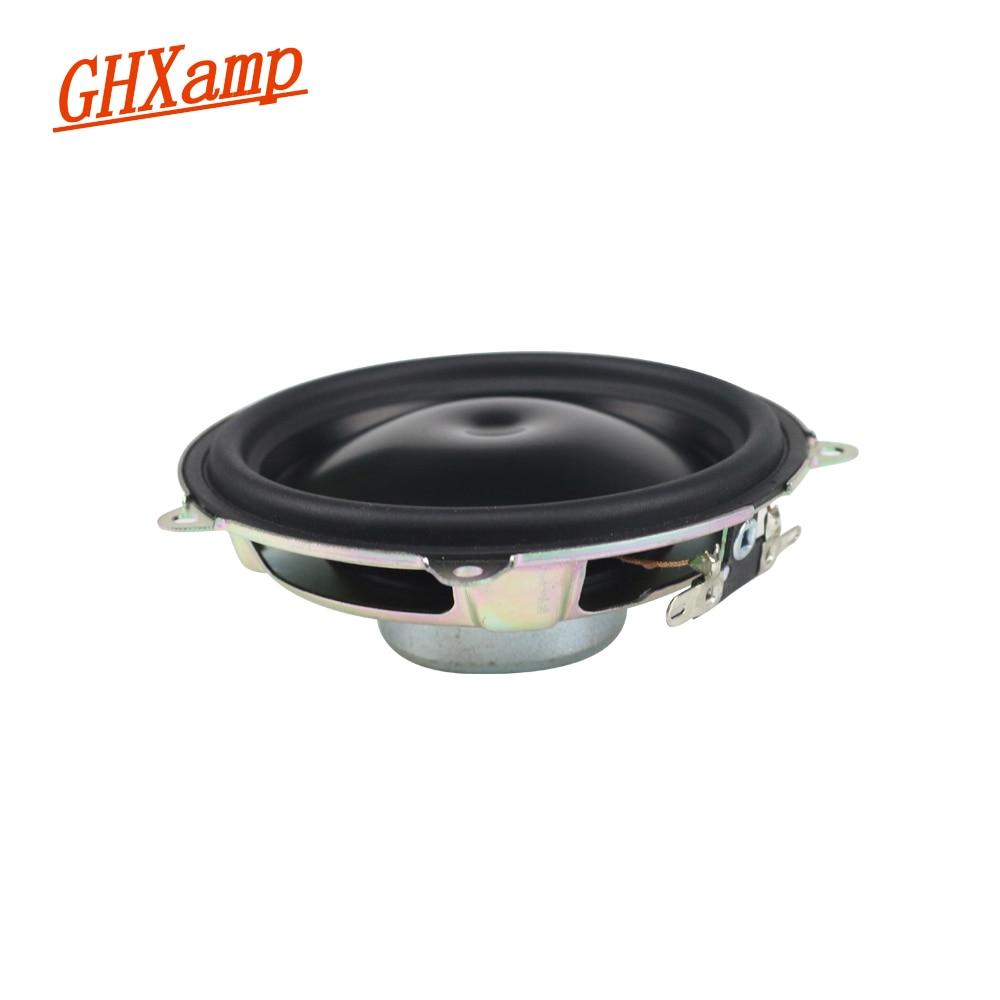 GHXAMP 3.5 inch 2OHM 30W Woofer Bluetooth Speaker Portable Midrange Bass Car Speaker Aluminum Cone Neodymium For BeoPlay A1