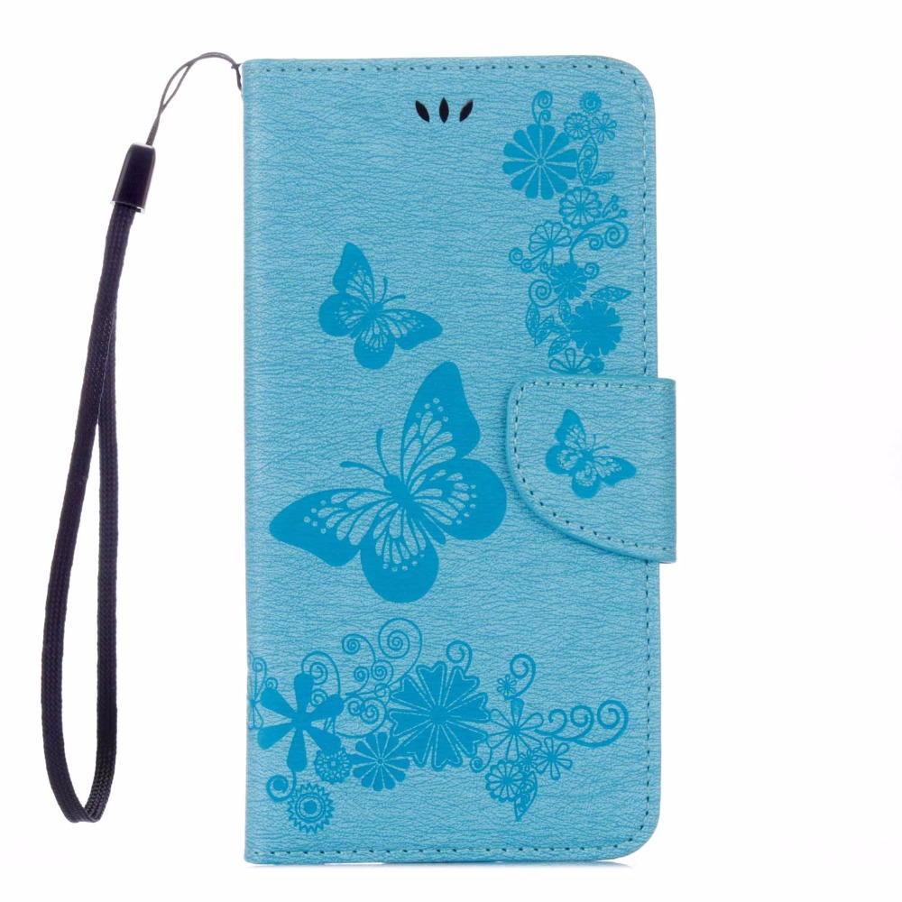 KSQ A Big Butterfly Flower Back Cover For Apple iPhone 7 Plus Flip Case 5.5 PU Leather Wallet Phone Protective Case Coque