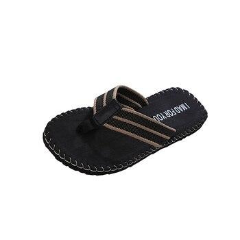 SIKETU Men Flip Flops Summer Beach Sandals Slippers for Men Flats High Top Non-slip Shoes Male Men Sandals Indoor&Outdoor A30 4