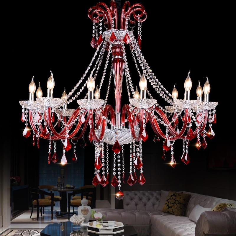 Red Crystal Chandelier: red crystal chandelier,Lighting