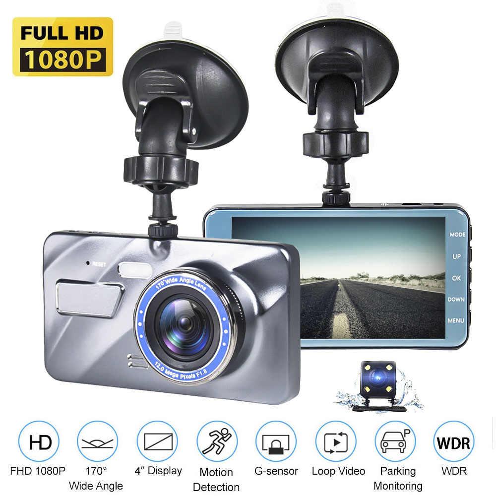 HD 1080P Dual Lens Car DVR Dash Cam Video Recorder Camera G-sensor Night Vision