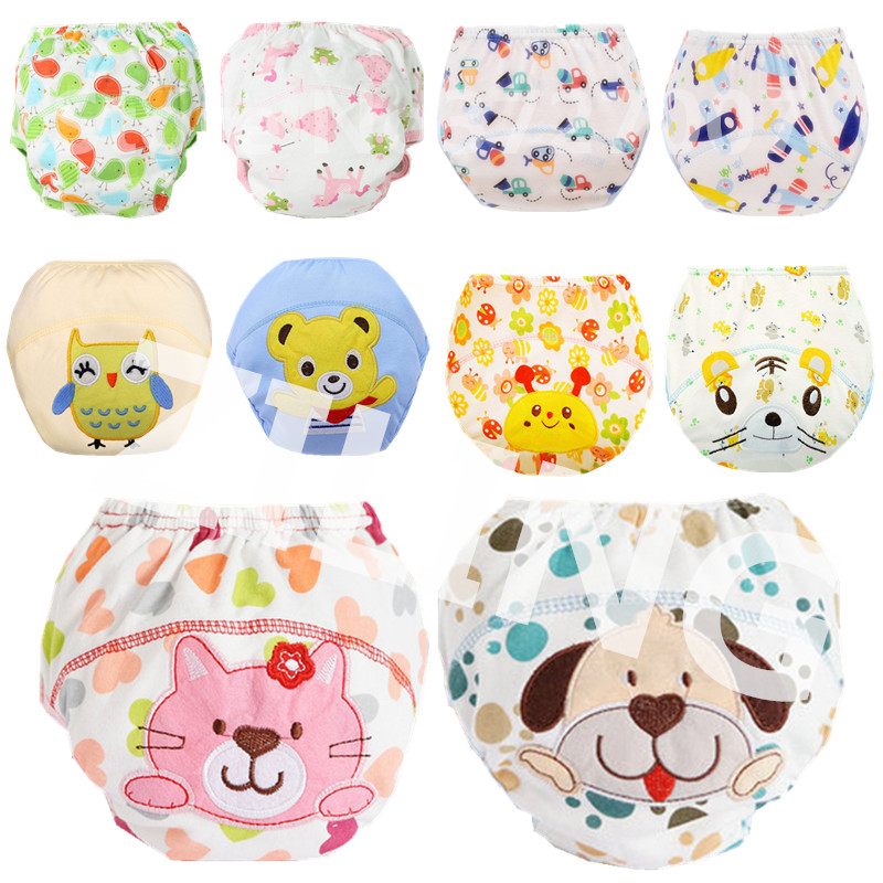 Cloth Nappies Underwear Diaper-Cover Potty Training-Pants Washable Newborn Cotton Waterproof