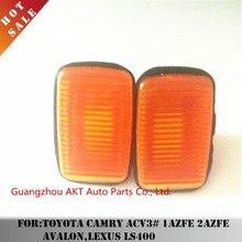 2pcs Fender Light for Toyota Camry ACV3# 1AZFE 2AZFE AVALON,LEXUS LS400 OEM:81731-50090 Car Auto Parts Side turn signal housing