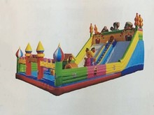Holiday Cartoon Inflatable Fun City for kids,  Amusement Equipment on sale