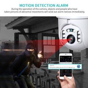 Image 5 - INQMEGA 1080P IP Camera WiFi  Wireless Auto tracking PTZ Speed Dome Camera Outdoor CCTV Security Surveillance Waterproof Camera