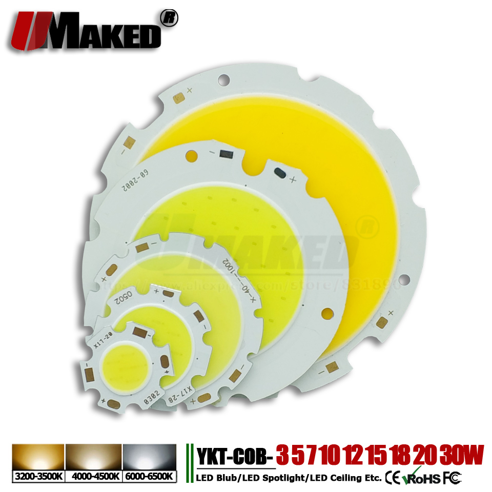 High Power LED Chip 3W 5W 7W10W 15W 20W 24W 30W 50W integrated SMD COB Beads Warm/NaturalWhite Lamp Diode for led bulb spotlight uray 3g 4g lte hd 3g sdi to ip streaming encoder h 265 h 264 rtmp rtsp udp hls 1080p encoder h265 h264 support fdd tdd for live
