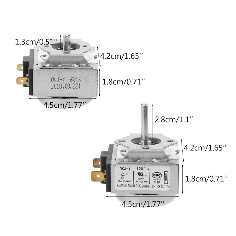 New 60//120 Minutes Timer Switch For Electronic Microwave Oven Cooker Electric