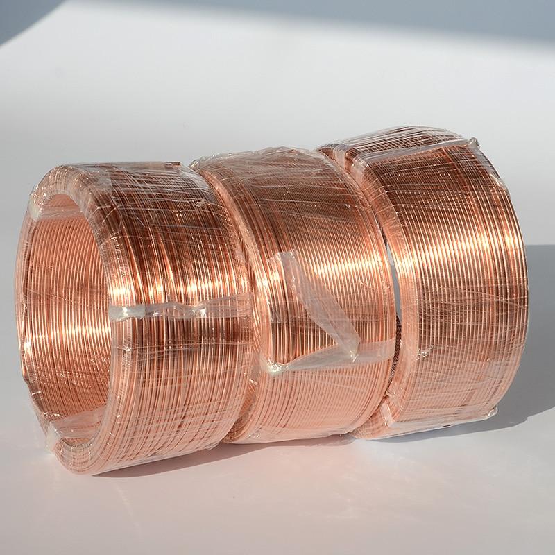 2 мм толщина T2 чистая медная проволока промышленный эксперимент DIY материалы 10 метров
