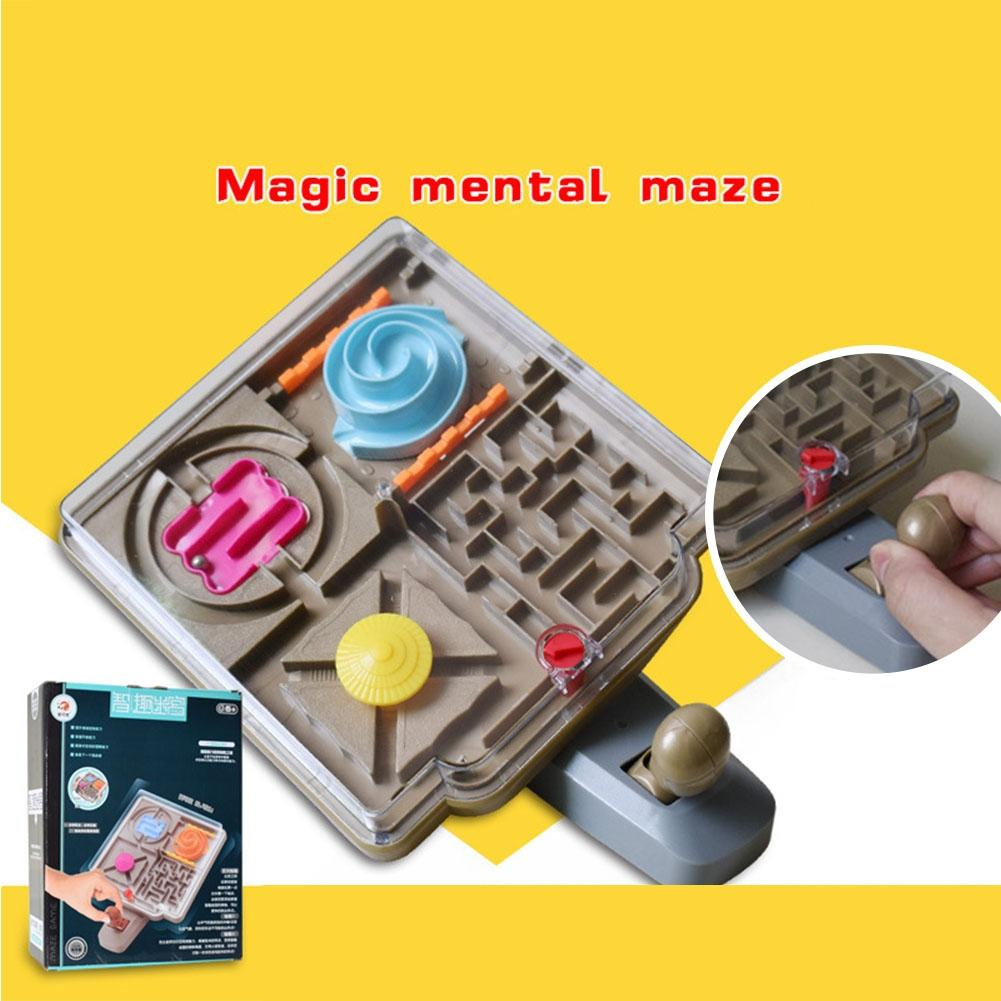 LeadingStar 3D Beach Maze Walking Bead Labyrinth Children Early Education Puzzle Board Game Christmas Gift zk30