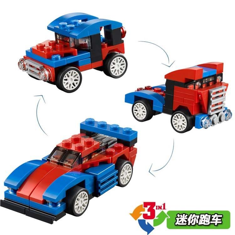 Decool 3104 Ville 65 шт. createur изменение 3 dans 1 Мини VOITURE де Спорт Камион рисунок Building Block Jouets Enfants cadeaux