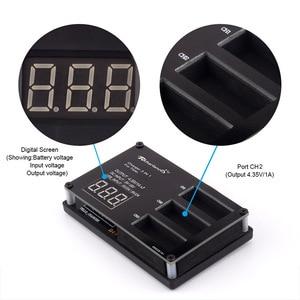 Image 4 - 3 pièces batterie de vol Drone DJI Tello + chargeur de batterie rapide moyeu de charge tello pour accessoires de batterie DJI Tello lipo