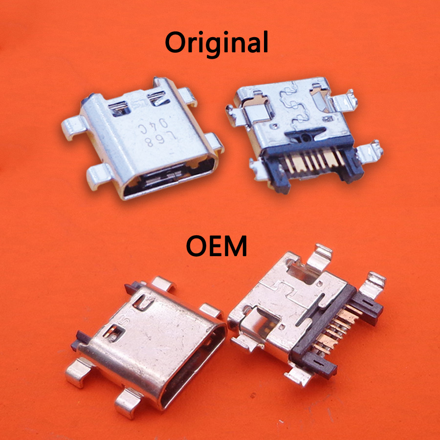1X Grand Prime Repair Parts Port Mini Usb Jack Plug Charging Connector For Samsung Galaxy  G530 5 J510 2016 J7 J700 J700F J7008