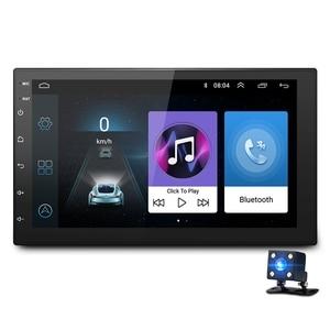 Image 1 - 7 นิ้ว Android8.1 2 Din รถ DVD วิทยุเครื่องเล่นมัลติมีเดียระบบนำทาง GPS สำหรับ Nissan peugeot toyota doble din Autoradio