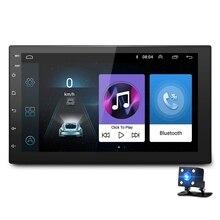 7 بوصة Android8.1 2 الدين مشغل أسطوانات للسيارة راديو مشغل وسائط متعددة GPS والملاحة العالمي لنيسان بيجو تويوتا دوبلي الدين Autoradio