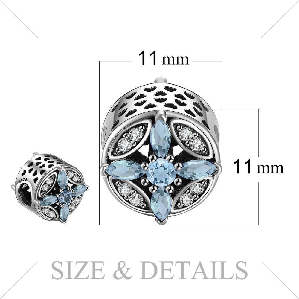 Jewelrypalace Bạc 925 Ngôi Sao Pha Lê Hạt Quyến Rũ Phù Hợp Với Vòng Tay Quà Tặng Cho Nữ Quà Tặng Kỷ Niệm Trang Sức Thời Trang