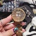 2016 Новые Моды для Женщин Часы Lady Diamond Платье Часы Из Нержавеющей Стали Полный Горный Хрусталь Браслет Наручные Часы дамы Кристалл Часы